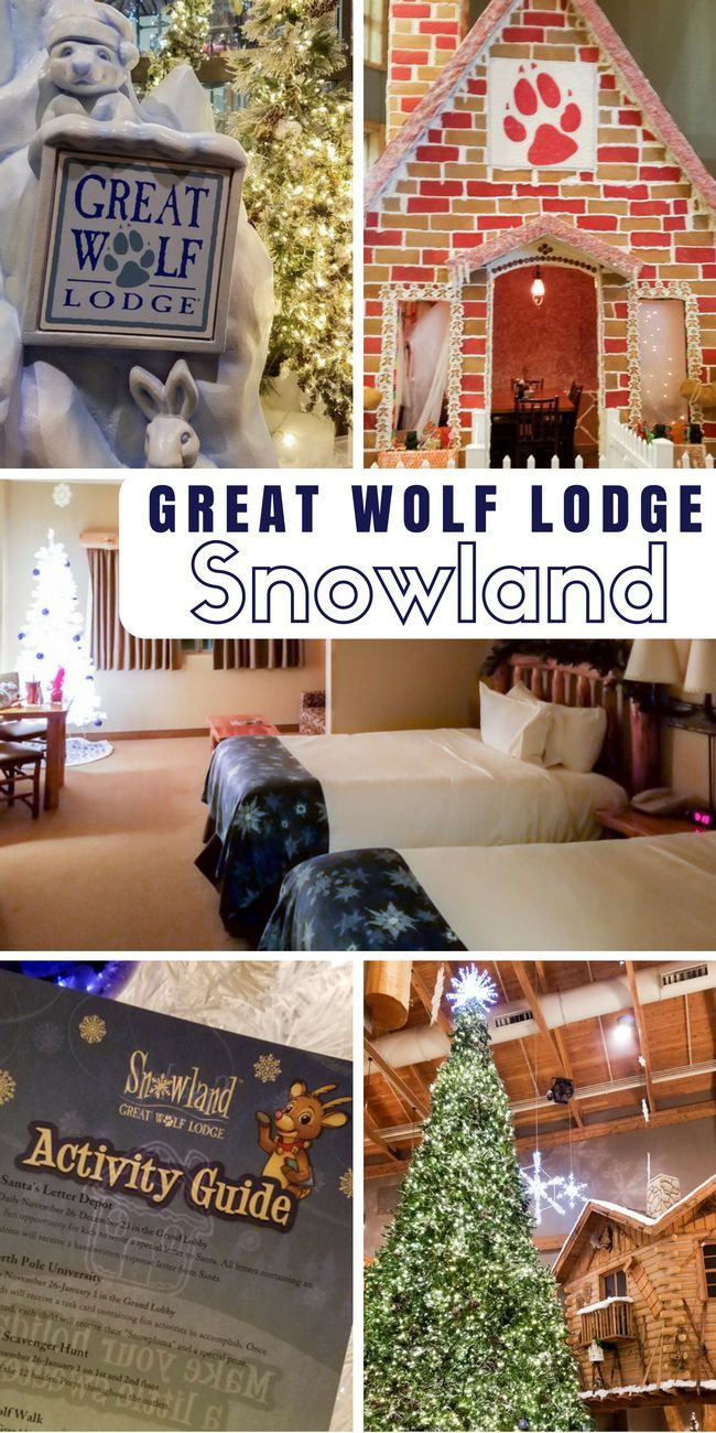Great Wolf Lodge tips for Snowland holiday celebration - what it is and what to do! Great for family holiday getaway! via @stuffedsuitcase
