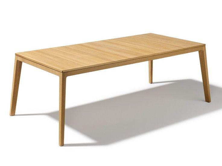 Tavolo allungabile in legno MYLON Collezione Mylon by TEAM 7 Natürlich Wohnen | design Jacob Strobel