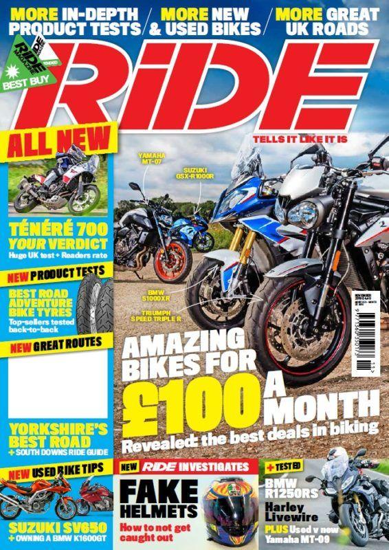 Ride November 2019 Used Bikes Motorcycle Magazine