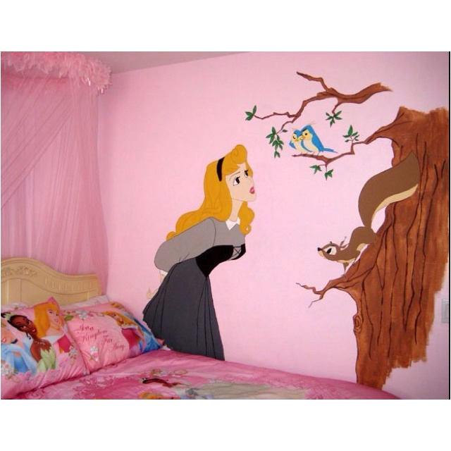 Gorgeous Tangled Themed Guest Rooms At Tokyo Disneyland: 25+ Best Ideas About Princess Mural On Pinterest