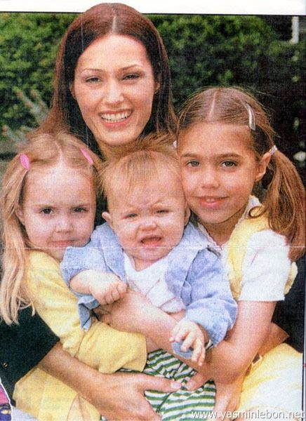 Yasmin, Amber, Saffron and Tallulah Le Bon 1995