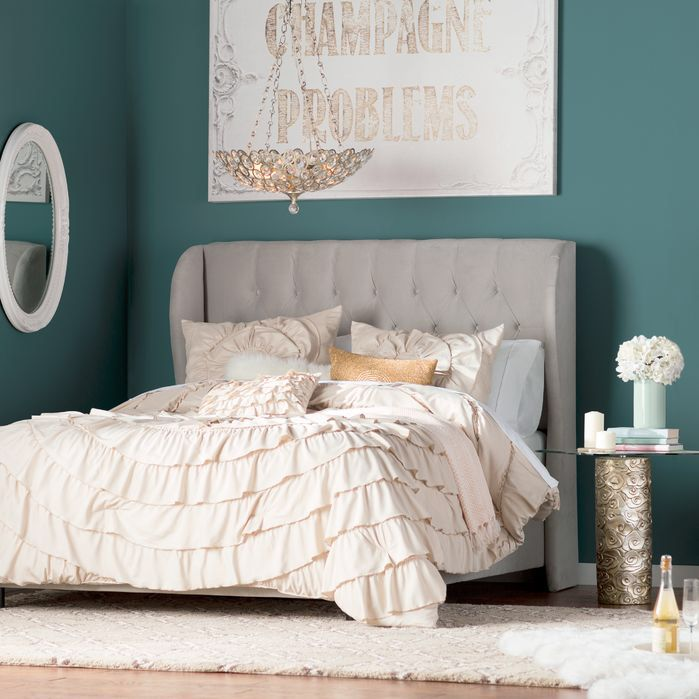 Image result for We have a tendency to put important furniture in the most commanding position at our homes and bed being the most important among all takes the prime slot. Good Feng Shui though requires that the bed faces the door and is not in line with it. To rectify the situation place a mirror in front of the bed so that you can see the door in it.