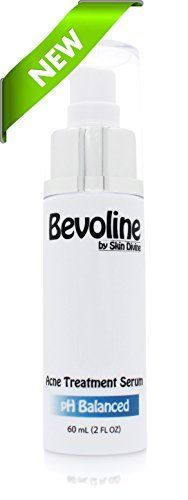 Bevoline Acne Serum 60 mL  Cutting edge acne treatment for Pimples Bacne and Light Acne Scarring  The lotion dries like a clear mask leaving your skin rid of acne and blemishes * Check this awesome product by going to the link at the image.
