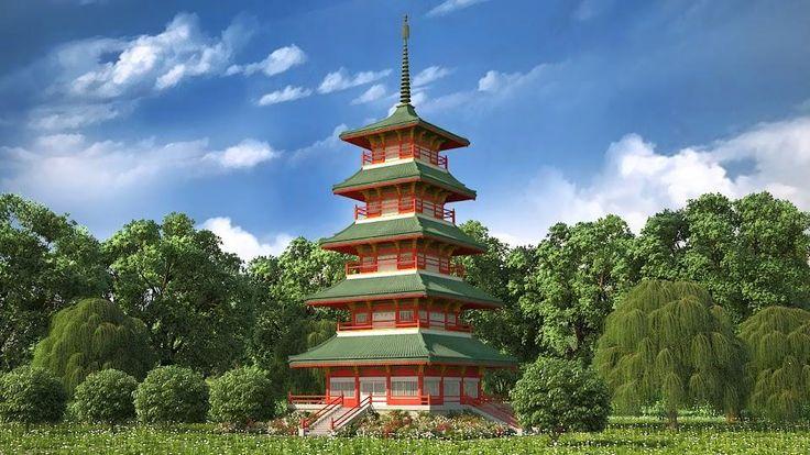 Japanese Pagoda Pagodas Temples And Shrines Pinterest