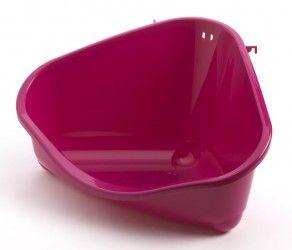 Litière pour lapins. Un vrai gain de temps! La litière permet de nettoyer moins souvent la cage à fond  (il suffit de vider le bac et de remettre de la litière propre) et le lapin reste toujours au sec. (Litière humide = pododermatite)