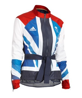 Stella McCartney for Adidas designed jackets for Britain's Olympic team!