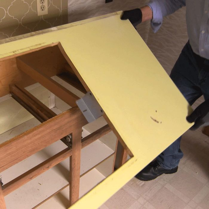 How To Remove Laminate Countertops And Install New