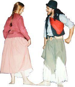 Todo sobre las danzas tradicionales de los pueblos de latinoamerica: Vestimenta tipica a travez de los años en Argentina Y Uruguay