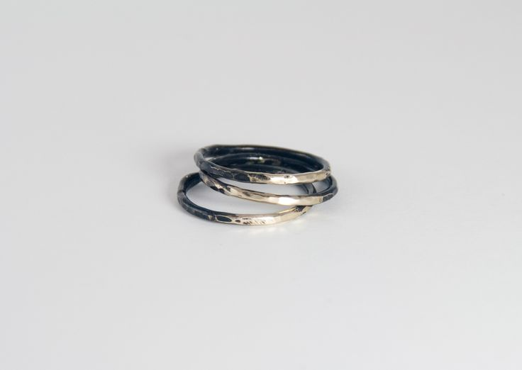 gold ponte rings / www.afarjewelry.com/shop