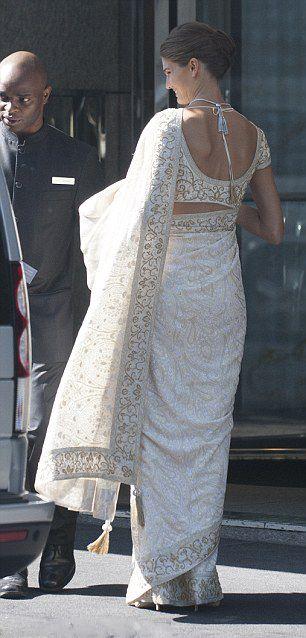 La princesa Salwa de Kayar el día de su boda con el principe Rahim de Kayar el 31 de Agosto de 2013.