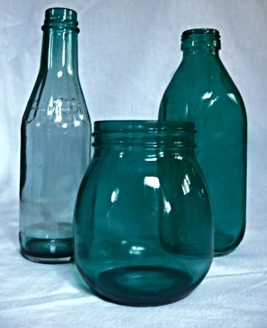 204 best images about diy home creations on pinterest for Small colored glass jars