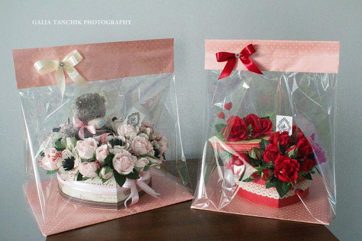 (87) Gallery.ru / Фото #33 - Серця і подарунки з цукерок для закоханих - designbygaljatanchik