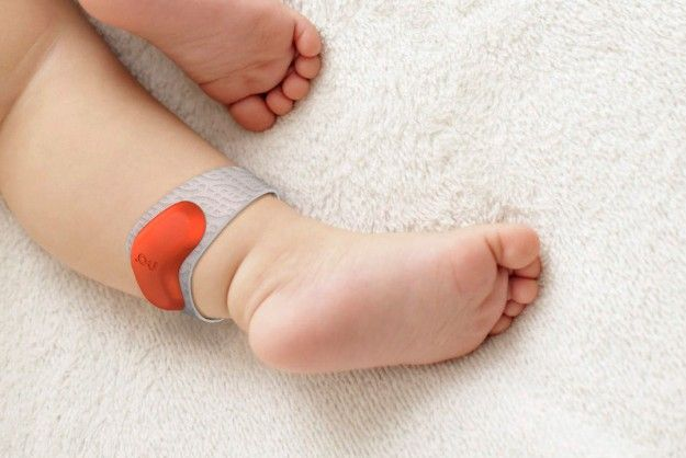 The Sproutling monitor is a new type of wearable tech for babies, that fits around a toddler's...