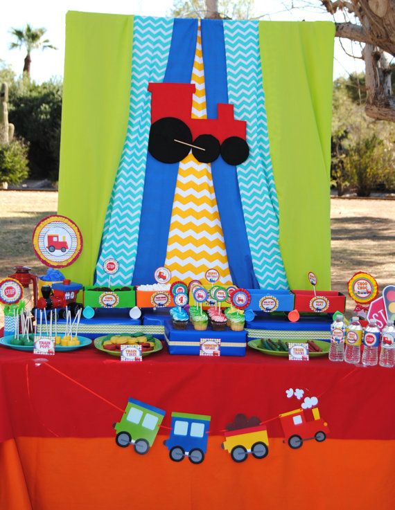 330 Best Train Birthday Party Images On Pinterest