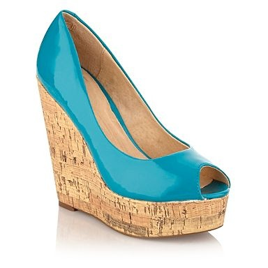Love this colour, love wedges