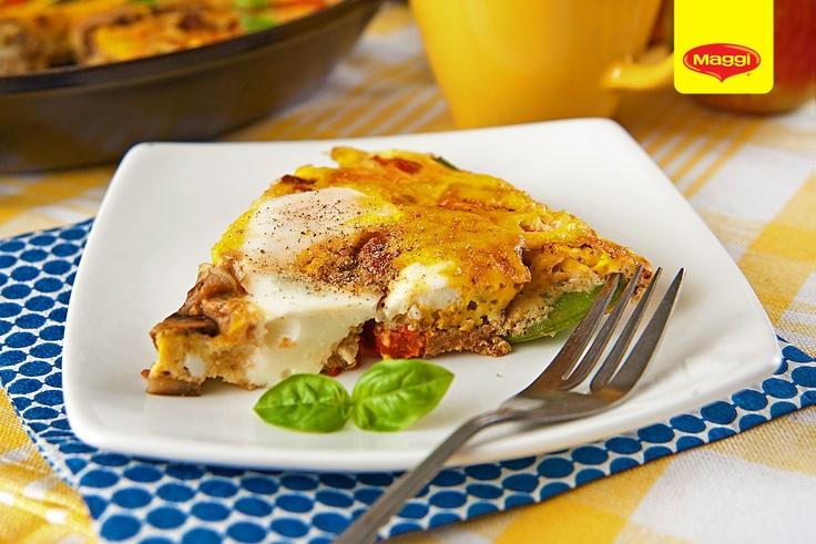 Frittata // Avem o idee: sa taiem aceasta traditionala Frittata italieneasca in atatea Like-uri cate primeste! Cine vrea o felie? :) -> https://www.facebook.com/photo.php?fbid=377441938995902=pb.287189181354512.-2207520000.1363177889=3