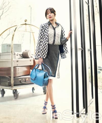 Kim Ah-joong // InStyle Korea // April 2013