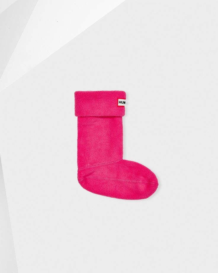 Kids Pink Welly Socks | Official Hunter Boots Site