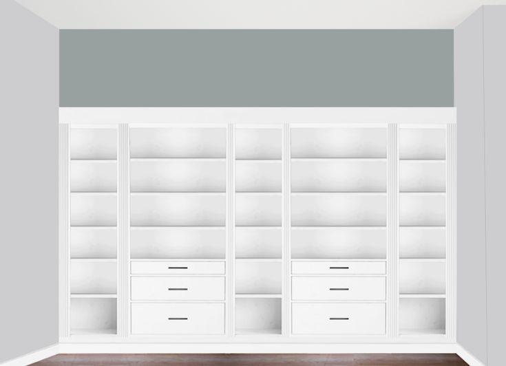 Untitled Ikea Hack Bookcase Ikea Closet Hack Built In Bookcase