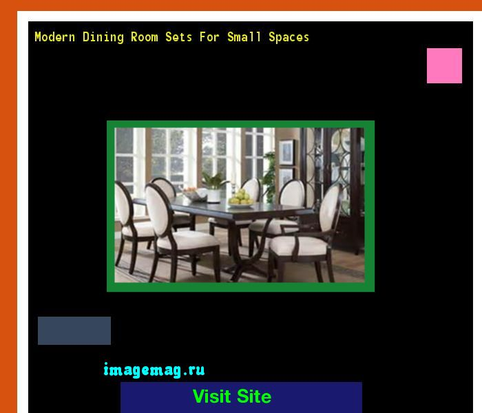 Modern Dining Room Sets For Small Spaces 071245 - The Best Image Search