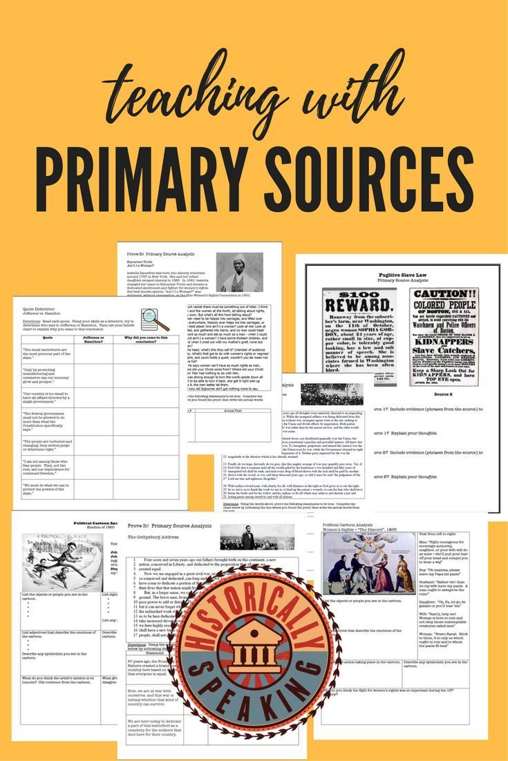 Teaching with primary sources can be a challenge. Try the popular Prove It! series.