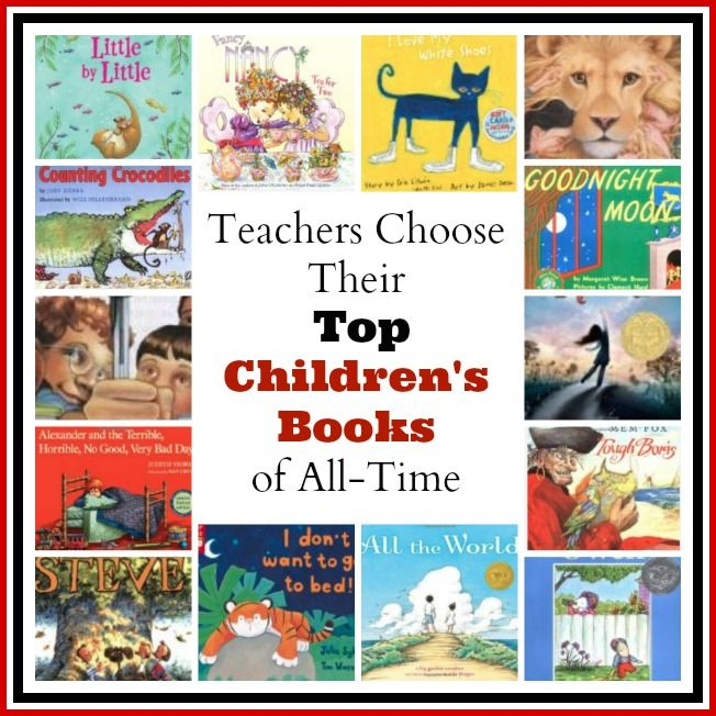 Teachers from Kindergarten through 5th grade share their favorite children's books of all time!