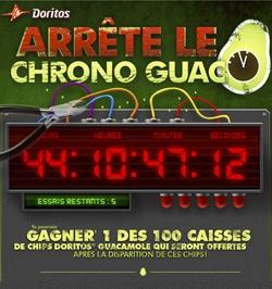 Gagnez une caisse de chips Doritos au guacamole. Fin le 22 février.   http://rienquedugratuit.ca/concours/chips-doritos-guacamole/