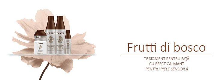 Descopera tratamentul pentru piele sensibila. http://oloscosmetics.ro/frutti-di-bosco/