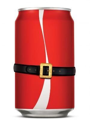 Coca-Cola: Cokesanta by etta