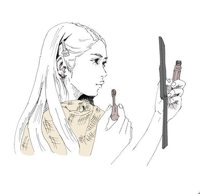 いいね!1件、コメント1件 ― NaoyaEnomoto_illustさん(@naoyaenomoto)のInstagramアカウント: 「#VSCOcam #pen #picture #illust #illustagram #illustration #line #japan #creative #イラスト #アート #絵…」