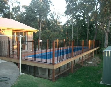 Above Ground Pool Kits Pool Kits And Lap Pools On Pinterest
