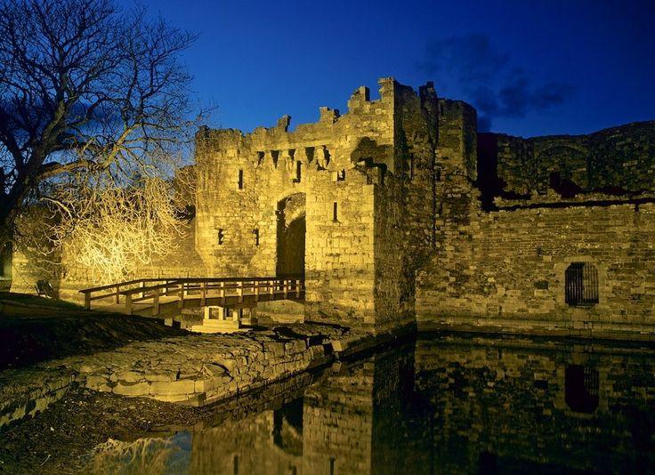 Chateau de Beaumaris, Anglesey, Pays de Galles