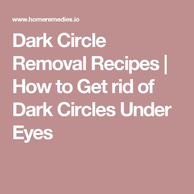 78 Best ideas about Dark Circle Removal on Pinterest ...