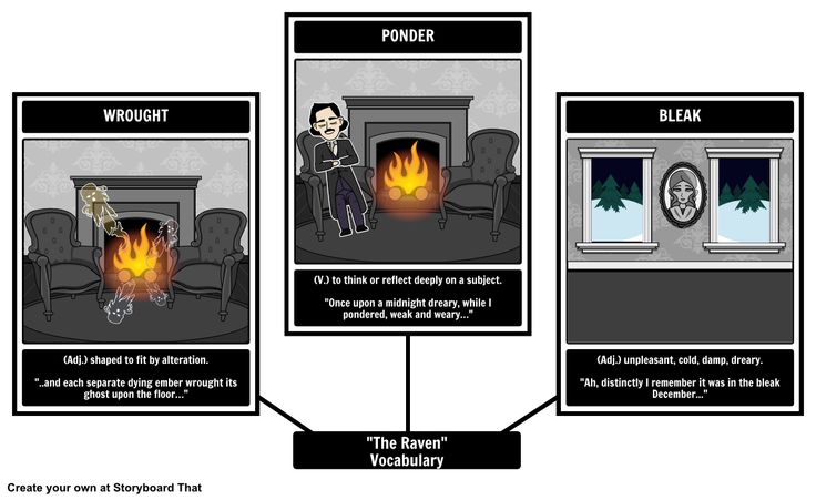 the raven tpcastt This lesson will provide a summary and short analysis of donald justice's poem 'incident in a rose garden' by exploring the interaction between the.