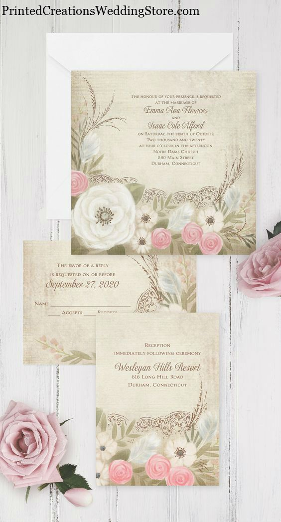 17 best images about country wedding theme on pinterest for Wedding invitation making course