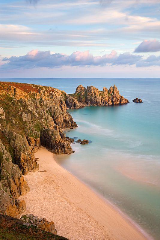 Pednvounder Beach, Cornwall, England
