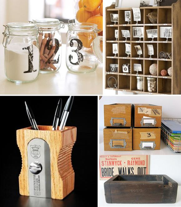 Small Area Storage Ideas Part - 17: Organizers And Small Storage Solutions For Your Kitchen And Home Office
