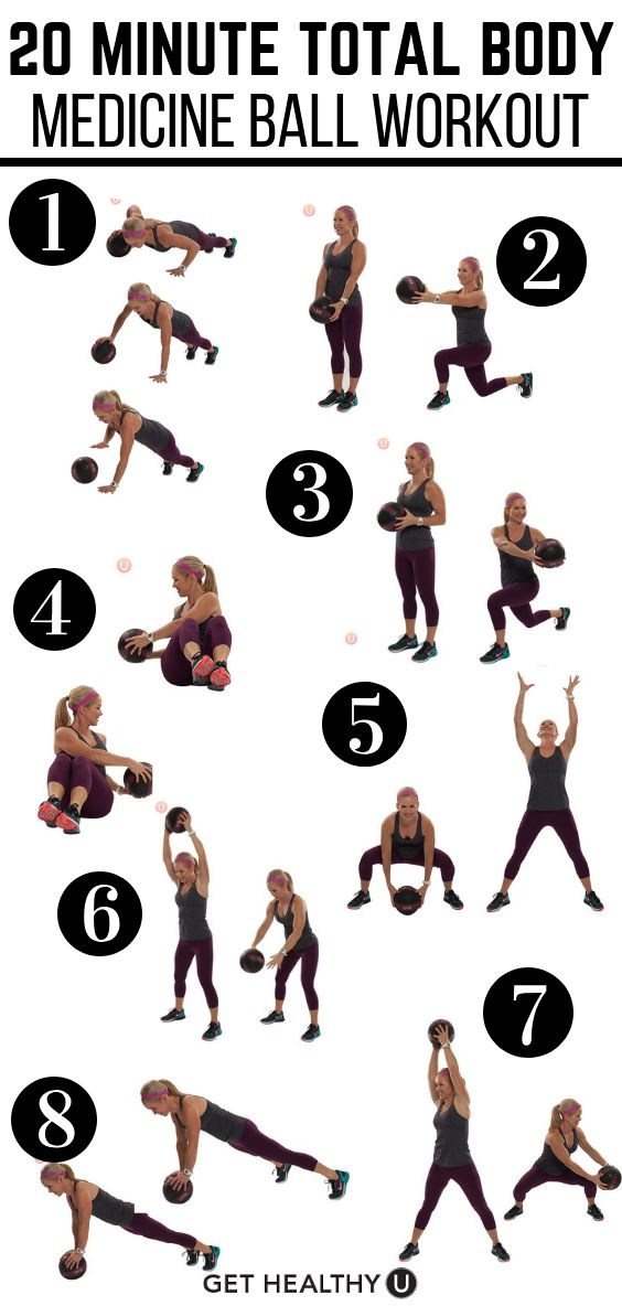 Total-Body Medicine Ball Workout