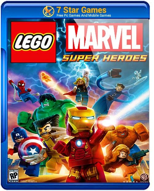 Lego Marvel Super Heroes Game For PC Free Downloaed
