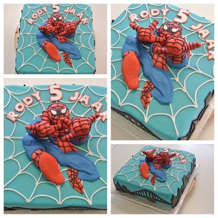 3D Spider Man Cake