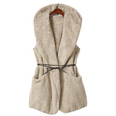 Invierno de las mujeres de piel sintética de Outwear - EUR € 13.83 http://www.lightinthebox.com/es/invierno-de-las-mujeres-de-piel-sintetica-de-outwear_p1080643.html