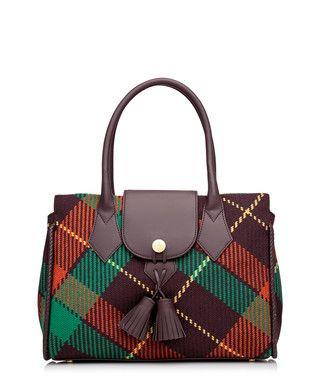Winter Tartan burgundy grab bag Sale - Vivienne Westwood Sale