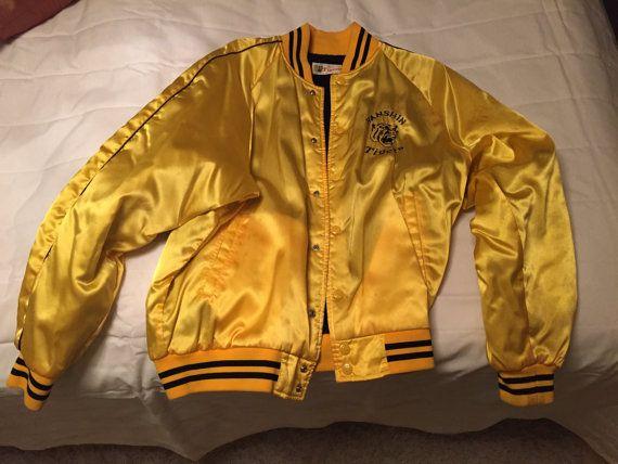 Hanshin Tigers baseball jacket by JuiceSpecials on Etsy