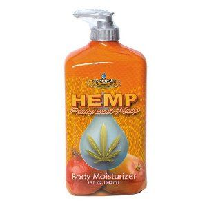 I find that Hemp lotions work very well. I have always hated the greasy feeling most moisturizers leave, but hemp lotions seem to soak in without leaving that feeling. I am also partial to tropical scents. Anything coconut or tropical fruit.  This bottle is only $5.99
