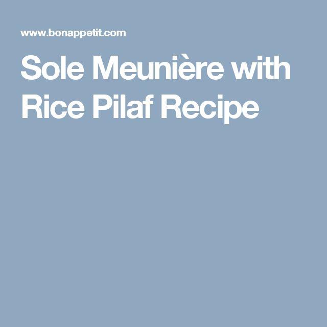 about Sole Meuniere on Pinterest | Julia childs, Poisson meuniere ...