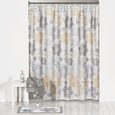 Snow Much Fun Shower Curtain and Hook Set - BedBathandBeyond.com