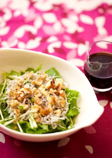 水菜とじゃこのサラダ のレシピ・作り方 │ABCクッキングスタジオのレシピ | 料理教室・スクールならABCクッキングスタジオ