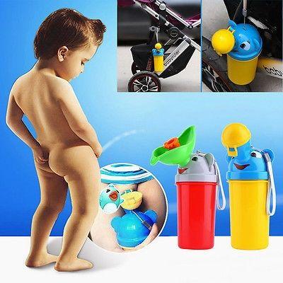 3.41$  Buy here - New Children Boy Potty Urinal Boys Travel Camping Train Outdoors Potty Pee Standing PottiesToilet   #buymethat
