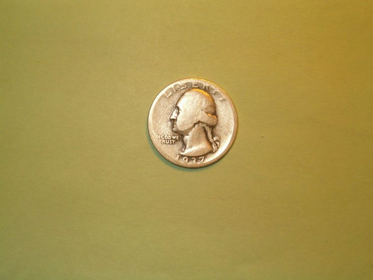 1937 Washington Quarter Good