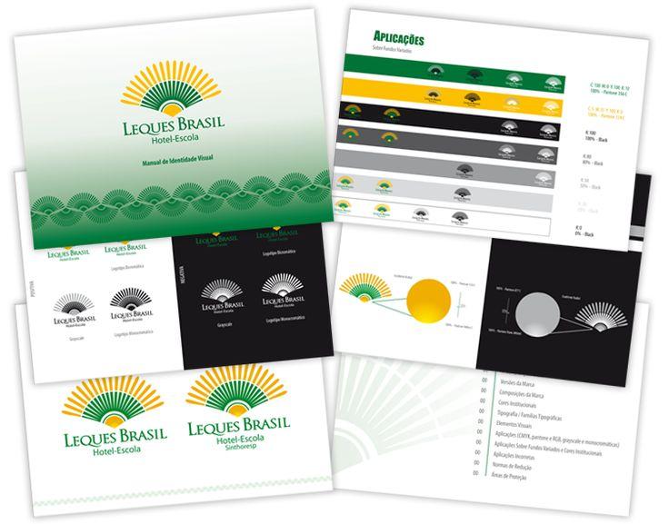 Manual de aplicações de marcas / Guide Line - Leques Brasil